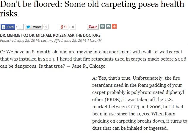 Old Carpenting