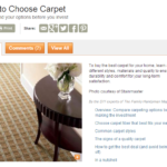 Finding a Carpet in Los Angeles Stores to Suit your Family's Needs